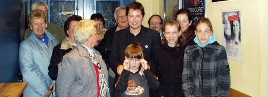 Andreas Arnstedt im Schillerhof in Jena